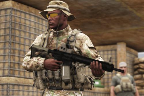 L119A2 / C8 Carbine / MK18