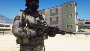 L85A2/SA80 Bullpup Rifle