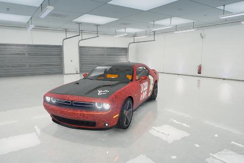 La Casa De Papel Paintjob - 2016 Dodge Challenger