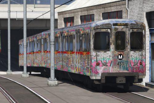 LA Downtown subway