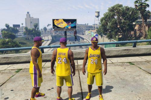 LA Lakers Clothing Pack