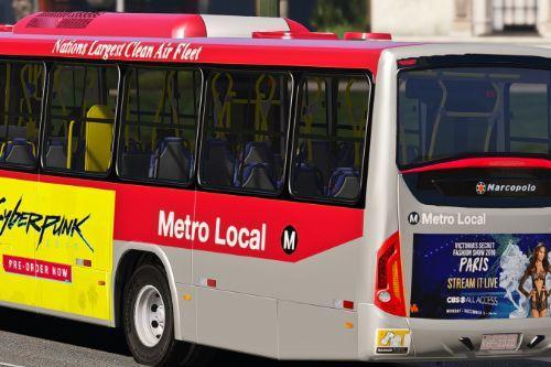 LA Metro Bus Marcopolo Torino livery