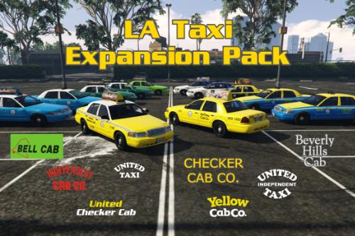 LA Taxi Expansion Pack
