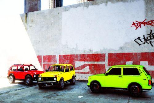 LADA NIVA by AKROM Add-ON
