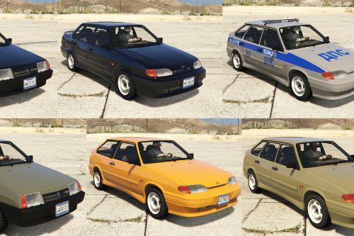 LADA Samara cars pack [Add-On | Extras | Tuning]
