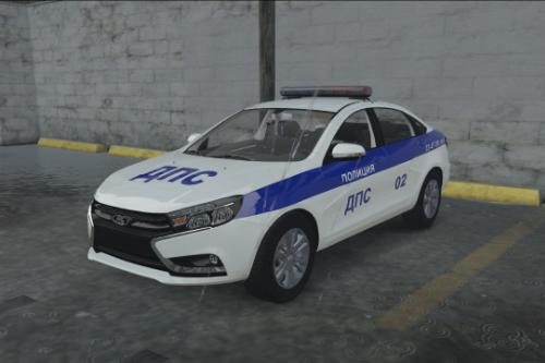 LADA-VESTA-POLICE