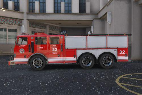 Fictional LAFD Livery for Heavy Rescue Vehicle