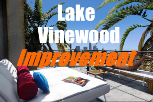 Lake Vinewood Improvements [YMAP/FiveM]