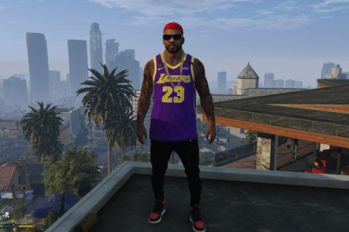 Lakers jersey for franklin