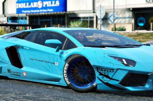 Lamborghini Aventador [Liberty Walk] Livery