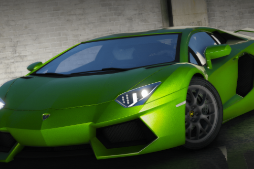 Lamborghini Aventador [Add-On / Replace / FiveM | Unlocked]