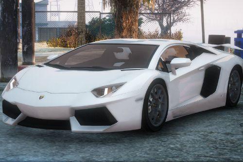 Lamborghini Aventador [Replace / FiveM | Unlocked | .Z3D]