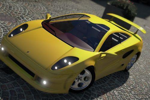 Lamborghini Calà 1995 (Italdesign) [Add-On / Replace / Unlock]