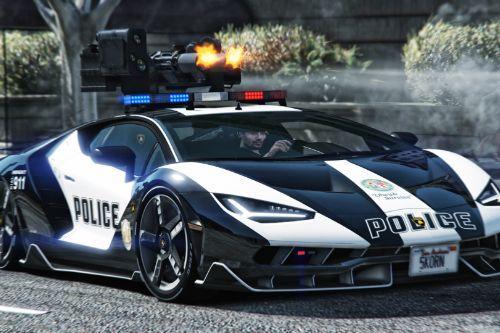 Lamborghini Centenario Lp770-4 Police 👮 LSPD