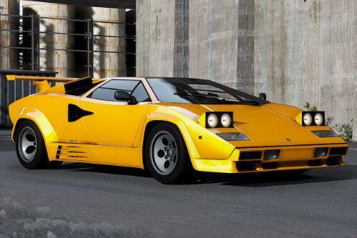 Lamborghini Countach 1988 [Add-On | Template | Extras]
