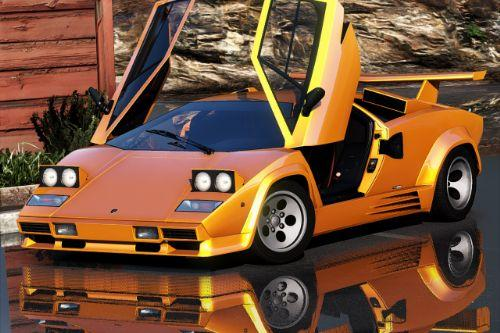 Lamborghini Countach 1988 [Add-On | Template | Extras]