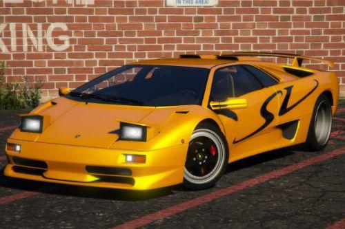 Lamborghini Diablo SV 1995-2001 [Add-On   Extras   LODs   Template]