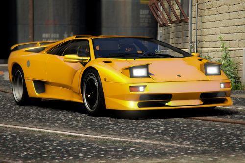 Lamborghini Diablo SV 1995-2001 [Add-On | Extras | LODs | Template]