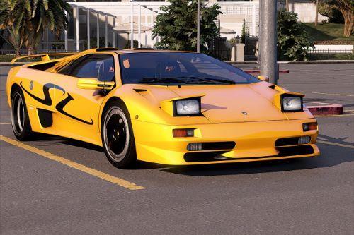 Lamborghini Diablo SV 1995-2001 [Add-On | Extras | Template]