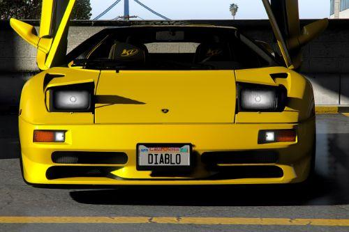 Lamborghini Diablo SV 1995-2001 [Add-On | Extras | LODs | Template]