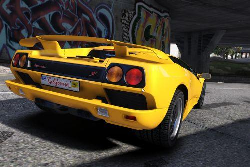 Lamborghini Diablo SV 1997 [Add-On | Tuning | LODs]