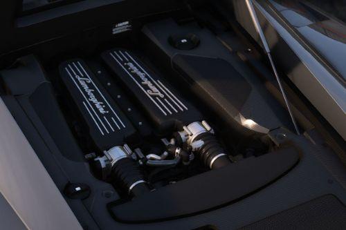 Lamborghini Gallardo 5.0 V10 Engine Sound [OIV Addon | FiveM]