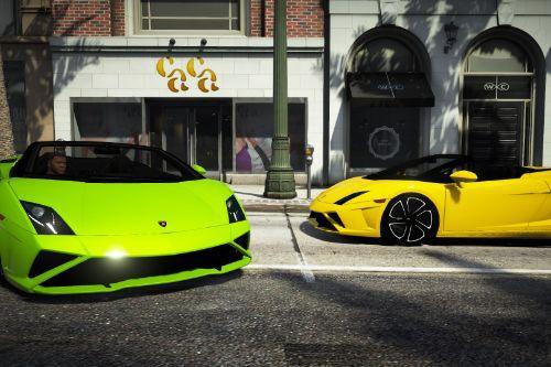 Lamborghini Gallardo Spyder LP 560-4 (2013 Facelift) [Add-On | Extras]
