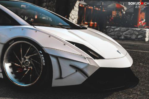Lamborghini Gallardo Superleggera LibertyWalk [Add-On / Replace]