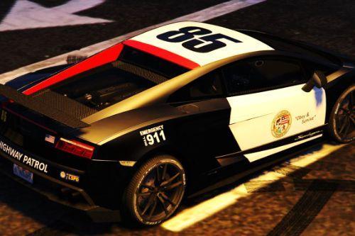 Lamborghini Gallardo Superleggera LSPD Highway Patrol