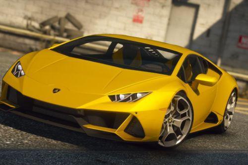 Lamborghini Huracan EVO coupe [Add-On | Tuning | Wheels | Template]