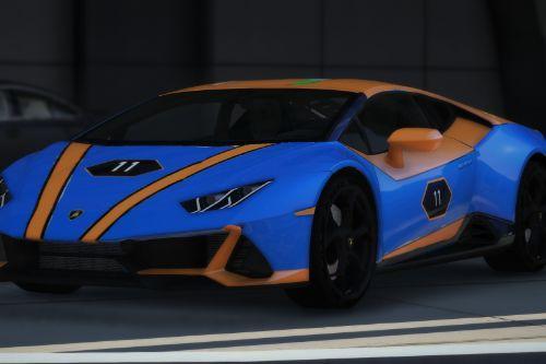 Lamborghini Huracan Evo GT Livery