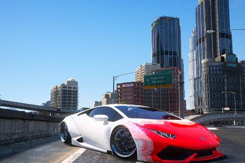 """Lamborghini Huracan Liberty Walk LP610-4""[Blood livery]"