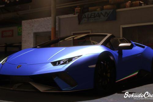 Lamborghini Huracan Performante Spyder [ADDON+REPLACE]