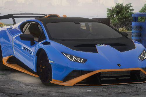 Lamborghini Huracan STO 2021 [Add-On / FiveM | Unlocked]