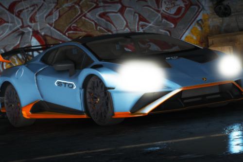 Lamborghini Huracan STO 2021 [Add-On / FiveM | Unlocked]