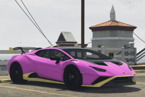 Liveries for Lamborghini Huracan STO
