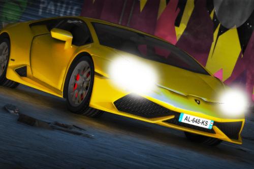 Lamborghini Huracan [Replace / FiveM | Unlocked]