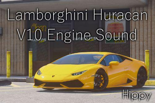 Lamborghini Huracan V10 Engine Sound