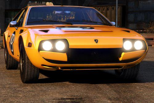 1976 Lamborghini Jarama [Add-On | LODs | Template | Animated Lights | Extras]