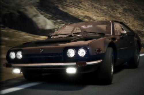 1976 Lamborghini Jarama [Add-On | Template | Animated Lights | Extras]