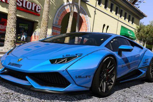 Lamborghini huracan LP-610  [LibertyWalk | Add-On]