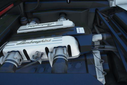 Lamborghini Murciélago 6.5 L V12 Engine Sound [Add-On / FiveM]
