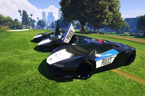 Lamborghini Police [Zentorno] LSPD