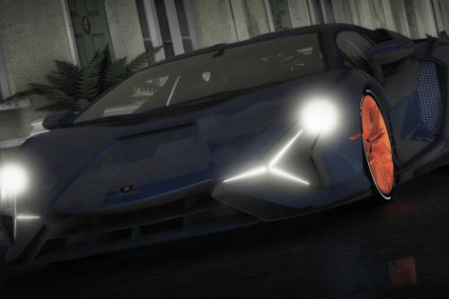 Lamborghini Sian [Replace / FiveM | Unlocked]