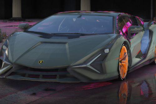 Lamborghini Sian [Replace / FiveM   Unlocked]