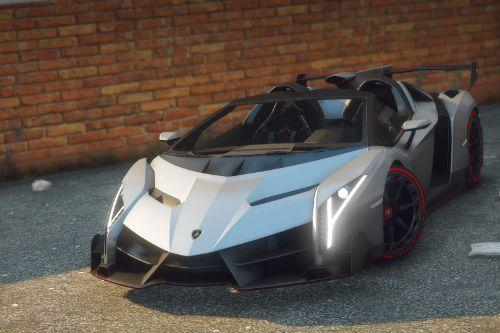 2014 Lamborghini Veneno Roadster [Add-On | OIV]