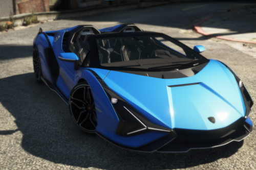 Lamborghini Sian Roadster [Add-On / Replace]