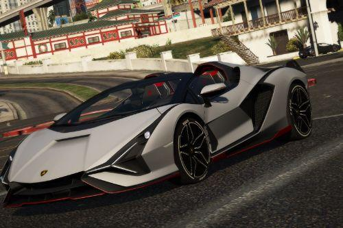 Lamborghini Sian Roadster [Add-On | Livery]