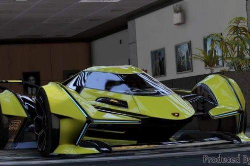 Lamborghini V12 Vision GT [Add-On / FiveM | Tuning]