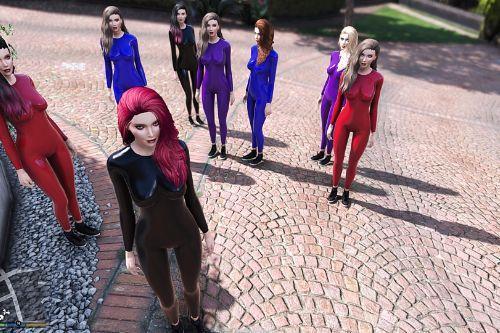 Sims4 Lana Latex Body Suit (Retexture)